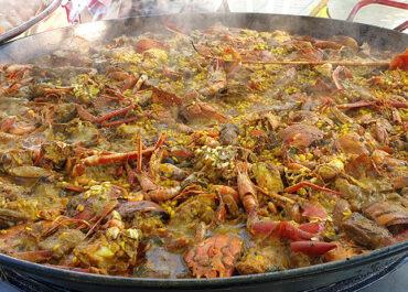 La mejor paella de langosta de Ibiza